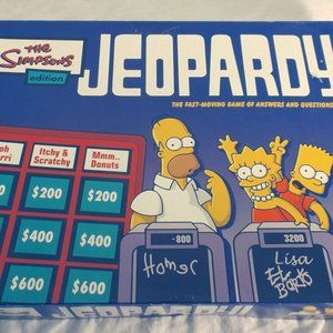 SIMPSONS Jeopardy Game